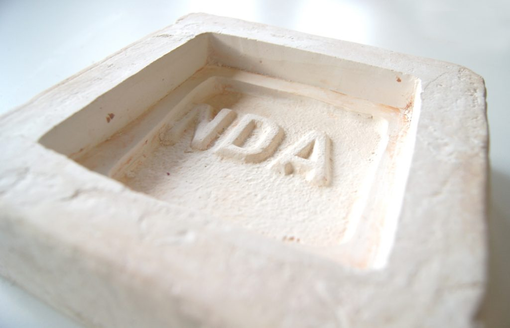 Capturing tha Past plaster mould